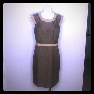 The Limited, Brown Khaki Body Framing Dress Size 8